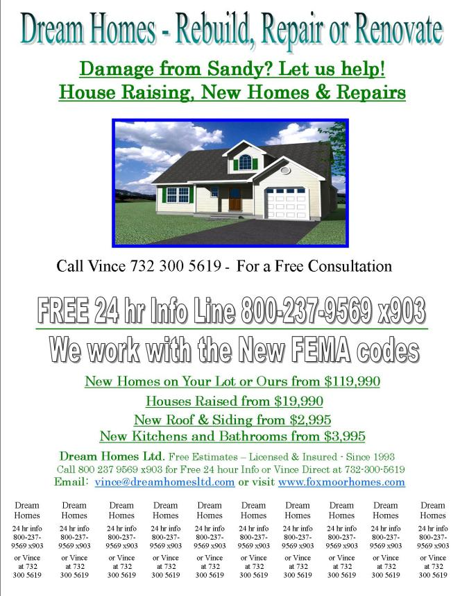 Dream Homes Ltd Flyer 2-8-13